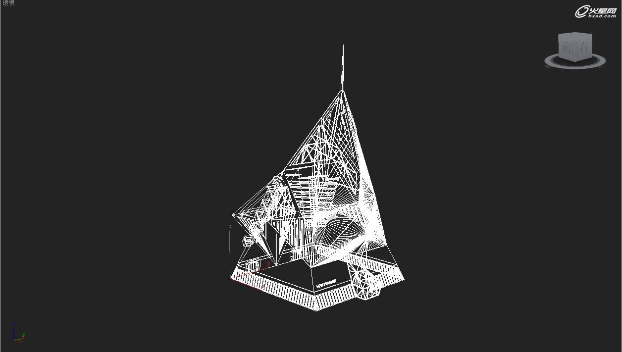 建筑设计教程:金字塔建筑方案表现方法详解
