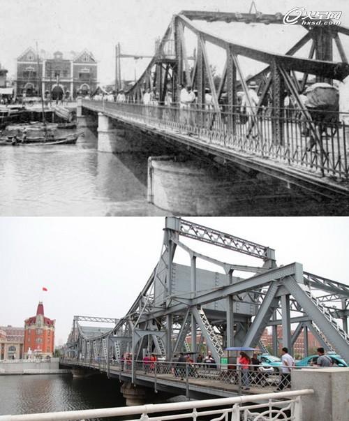 渤海明珠:古今天津卫城区规划大对比图片