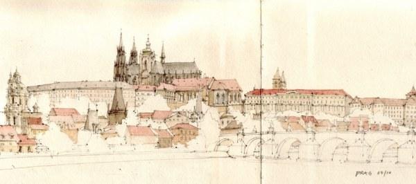 图超严谨 德国建筑师的城市速写本