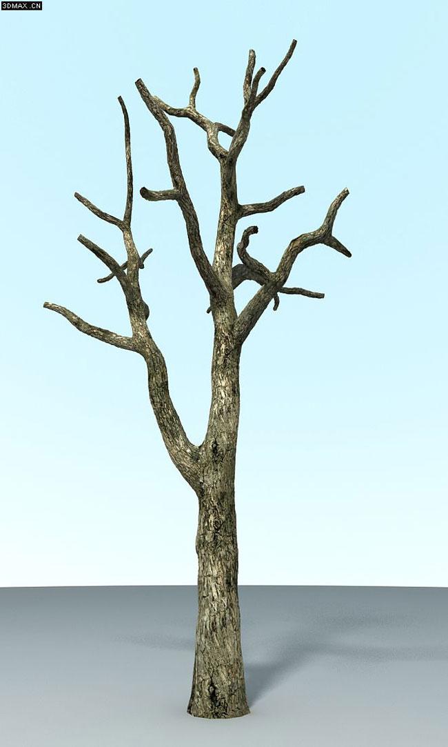 三维技术教程:树枝贴图展开教程