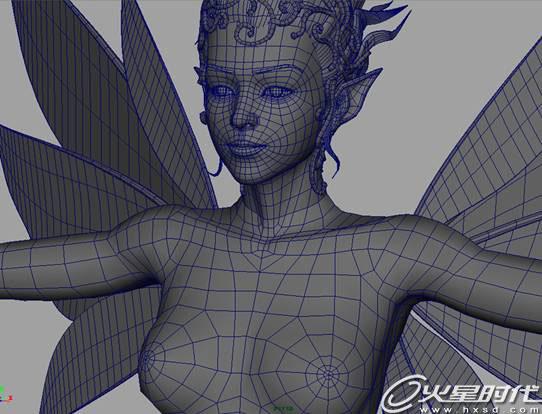 图是一把尺 三视图,camera里面图是一把尺 maya zbrush唯高清图片