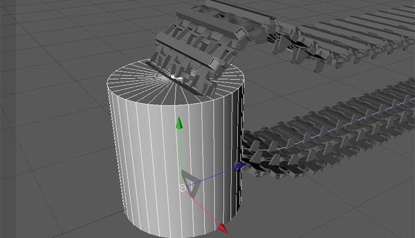 坦克履带制作_3dsmax教程制作坦克履带的方法3DMAX三