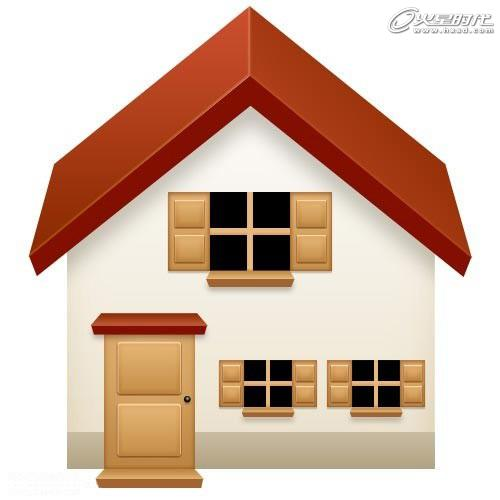 互动媒体教程:photoshop设计欧式房屋图标效果