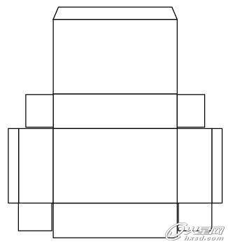 创建包装平面展开图