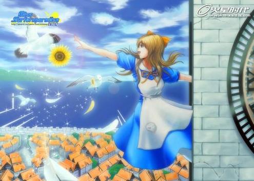 日本游戏cg创作比赛 美女集结选出你的最爱