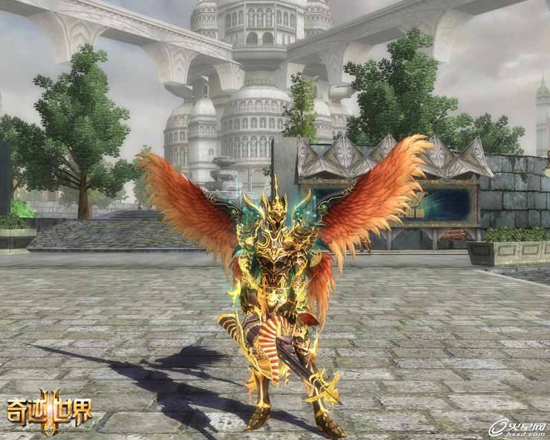 拥有天使之翼!《奇迹世界2》飞行时代来临