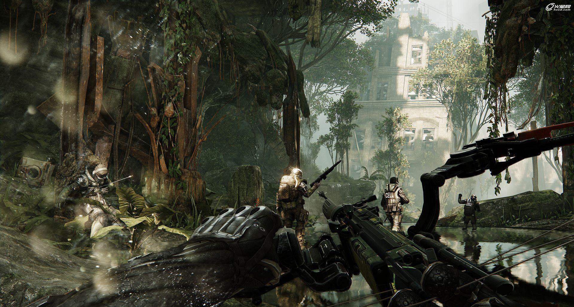 《孤岛危机3》猎杀场景截图