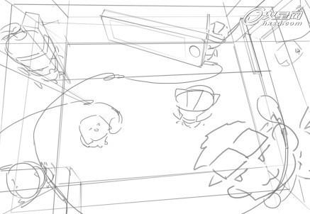 游戏耳机图手绘图