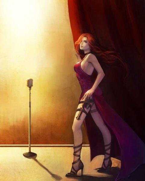 玩家作品!手绘版《英雄联盟》美女角色