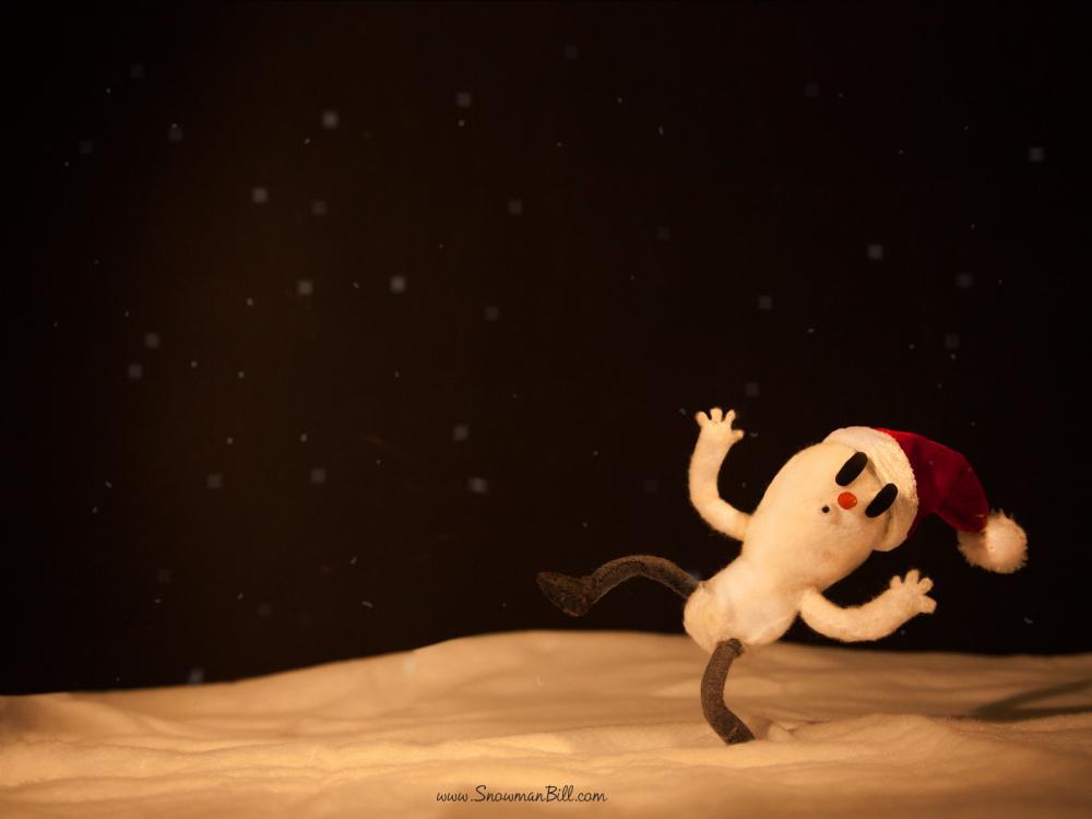 雪人bill桌面 | 火星网-中国数字艺术第一门户