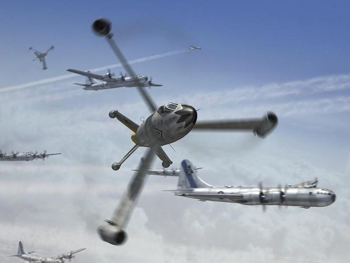 二战中那些逆天的飞机类型