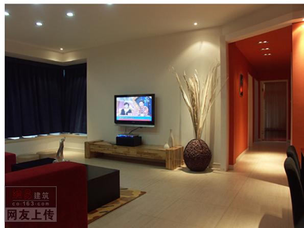 客厅装修效果之电视背景墙
