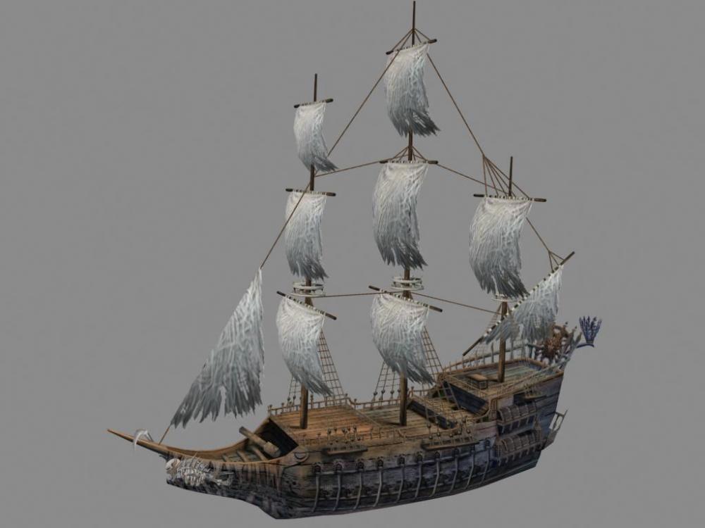 标签:模型素材船模型海盗船 素材分类: 素材首页 - 模型 - 运输模型