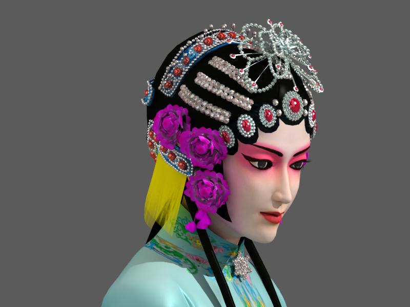京剧手绘唯美图