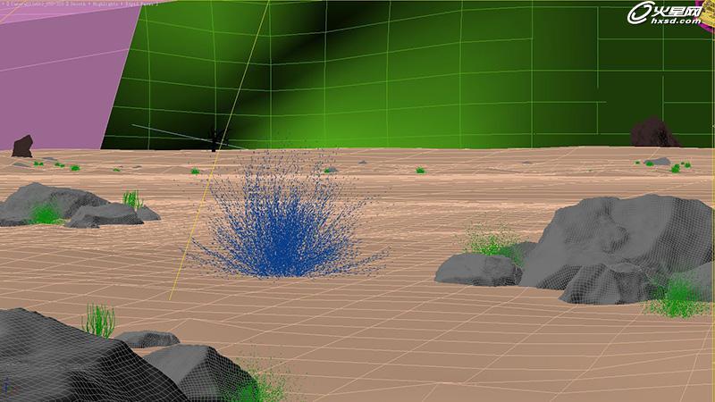 《陆风x5》汽车三维动画 震撼沙暴与模型制作