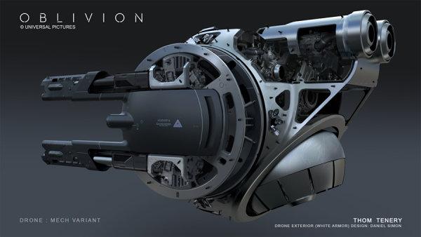 各种科幻武器!《遗落战境》前期概念设计