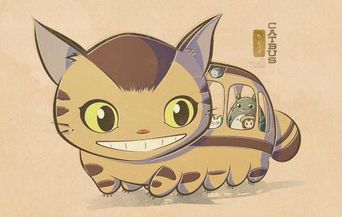 萌呆了!超可爱宫崎骏动画人物手绘图赏
